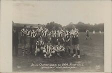 FOOTBALL JUEGOS OLIMPICOS 1924 EQUIPE DE TCHECO-SLOVAQUIE 161  REAL PHOTO
