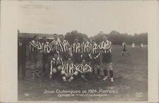FOOTBALL JUEGOS OLIMPICOS 1924 EQUIPE DE TCHECO-SLOVAQUIE 161  REAL PHOTO