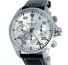 HAMILTON MEN KHAKI AUTOMATIC CHRONOGRAPH SWISS MADE 42mm SAPPHIRE  H64666555