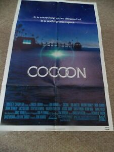 """COCOON(1985)DON AMECHE ORIGINAL ONE SHEET POSTER 27""""BY41"""""""