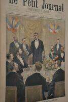 Saint Sebastien / Le petit journal sup illustré N°498 / 3 juin 1900