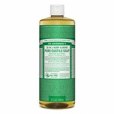 Dr Bronners Pure Castile Soap Liquid (Hemp 18-in-1) Almond 946ml - vegan