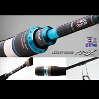 Abu Garcia Salty Stage KR-X 7' Light SPIN Casting Rod 702XL 2 piece PE 1-3kg