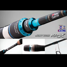 "Abu Garcia Salty Stage KR-X Light SPIN Casting Rod 7'4"" - 742XL 2 piece PE 2-4kg"