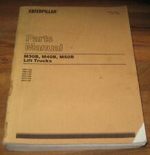 Caterpillar Cat Parts Catalog Manual Booklift Truckm30b M40b M50bsebn2548 01