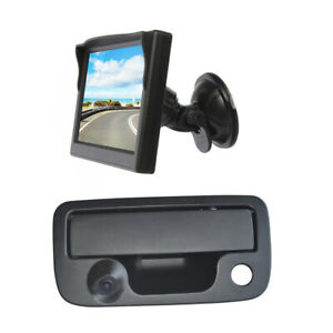 Reversing Camera & Suction Cup Rear View Screen Monitor for Volkswagen VW Amarok