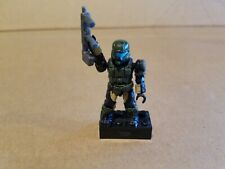 Green UNSC Pilot with SMG gun Halo Mega Bloks Series 1 action figure A05060MM