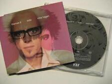 """THOMAS D & NINA HAGEN """"SOLO"""" - MAXI CD"""