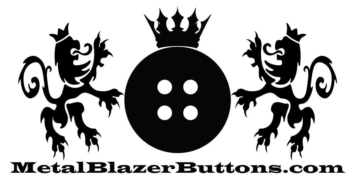 Metal Blazer Buttons