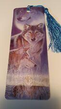 3-D Lenticular Bookmark ( Wolfs ) # 3