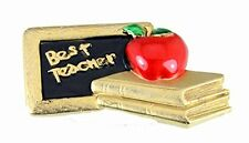 6030543 Best Teacher Brooch Pin #1 Teacher Appreciation Gift Present Year End