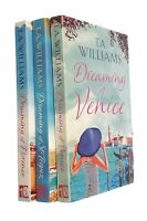 T A Williams 3 Books Romance Family Saga Dreaming Venice St Tropez Florence New
