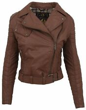 BELSTAFF Donna Giacca Blazer Marble GIUBBOTTO LADY BURNT BROWN dimensioni 36 S ITALY 42