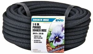 DIG - PSH50 1/4 IN. X 50 FT POROUS DRIP SOAKER HOSE GARDEN WATERING & IRRIGATION