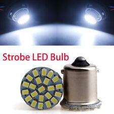 50Pcs 1156 BA15S 1206 22SMD Strobe Flash LED P21W Turn Signal Lights Brake Bulbs