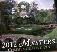 """""""2012"""" Masters Commemorative Pin"""