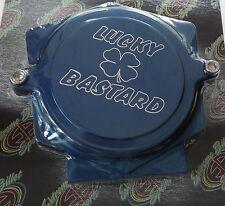 RAPTOR 700 700R LUCKY BASTARD BILLET ALUMINUM TIMING CHAIN BLUE CAM COVER