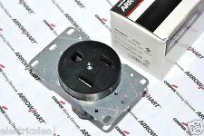1pcs-COOPER 5709N NEMA6-50 50A 250V Flush Mount Power Receptacle