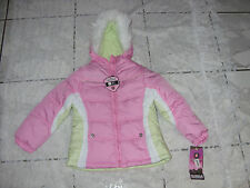 Protection System Girl's Jacket, French Pink Bubble Jacket Size 4 NWT