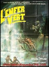 L'ENFER VERT / GREEN HELL Affiche Cinéma / Movie Poster ANTONIO CLIMATI