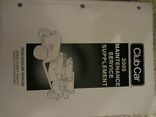 Club Car FE350 Vehicle Maintenance and Service Manual Golf Cart CarryAll