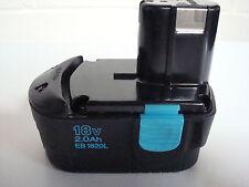 Hitachi Genuine 18V Drill Battery 2.0Ah EB1820L for DS18DMR DS18DVB DV18DV +++