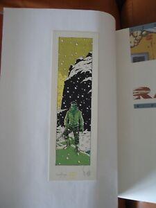 Rails Fred Simon 1/2/3/4 tous en EO + 1 ex-libris TBE