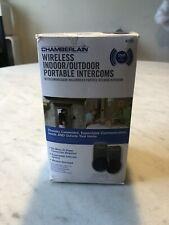 Chamberlain Wireless Indoor Outdoor Portable Intercoms NTD2