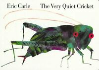 Very Quiet Cricket, Hardcover by Carle, Eric, Brand New, Free shipping in the US