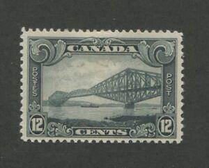 1929 Canada Stamp #156 Mint Hinged F/VF Original Gum Quebec Bridge