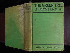ROMAN DOUBLEDAY: THE GREEN TREE MYSTERY/NOVEL/RARE 1917 1st EDITION