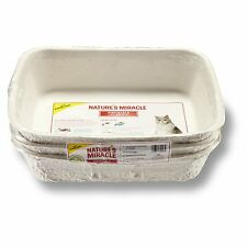 Nature's Miracle Disposable Litter Box, Regular, 3-Pack, New, Free Shipping