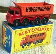 Matchbox Moko Lesney # 17d HOVERINGHAM  Foden tipper Truck NMinNMB 8BPW