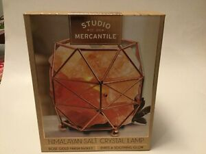 Studio Mercantile Himalayan Salt Crystal Lamp Basket