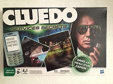 CLUEDO services secrets HASBRO