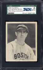1939 Play Ball #103 Moe Berg SGC Authentic (AUTH) Personal Collection Pedigree