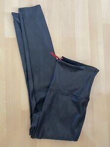 spanx faux leather leggings 12 14 Bnwot £129