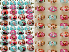 lot de  100  Frozen enfants bague resin ring anna elsa