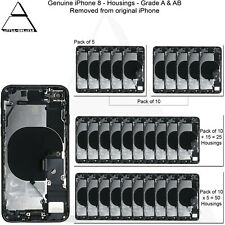 Genuine Apple iPhone 8 Back Rear Housing With Parts Grade A & AB Stock Lot