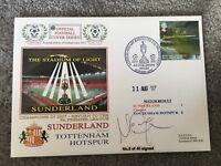 Sunderland v Tottenham  Return to the Prem 2007 signed by Goalscorer M Chopra