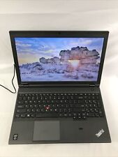 Lenovo Thinkpad T540p Intel i5-4300M 2.60GHz, 167GB SSD, 4GB RAM Windows 10 Pro