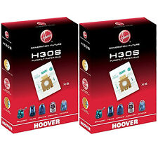 10 x HOOVER H30S Purefilt Bags for Sensory Vacuum Cleaners Genuine H30 Super