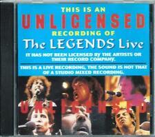 LEGENDS LIVE,THE* VARIOUS ARTISTS MEGA RARE AUSTRALIA ONLY CD AMCOS SW 103