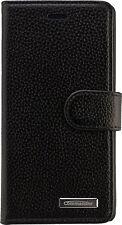 Commander Book Case Handy Tasche Elite Schwarz Huawei P8 Lite Schwarz