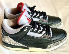 2001 NDS Nike Air Jordan 3 III Cement Black 13 4 5 11 RARE PE DB XI Bred OG