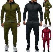 Herren Jogging Anzug Trainingsanzug zip hoody Sportanzug . s- 2XL