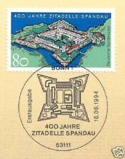 BRD 1994: ciudadela Spandau nº 1739 con sólo bonn etiquetas sello especial! 1a! 1510