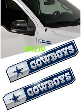 NFL Dallas Cowboys Car Truck Edition Badge Color Aluminum Emblem Sticker
