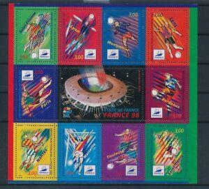 [G28249] France 1998 football good sheet very fine MNH