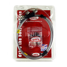 REAR HEL Performance Braided Brake Lines Hoses For MG TF 1.8 (02-05)